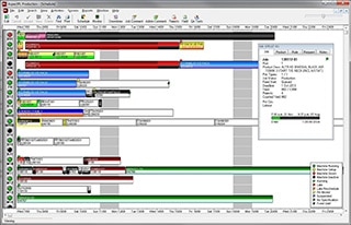 Live scheduling software